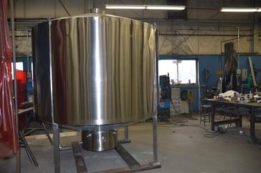 CAMM Metals Beer Tank